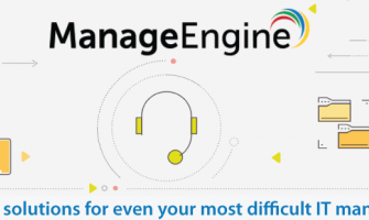 2018's Top 5 IT solutions from ManageEngine