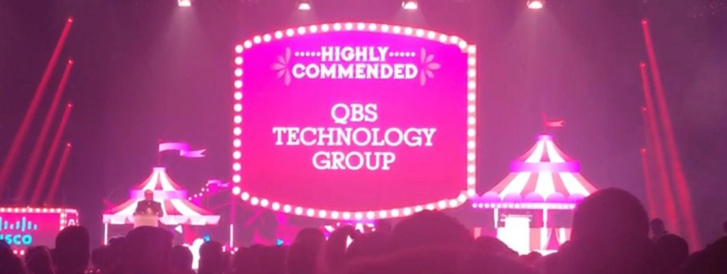 QBS Highly Commended As Distributor Of The Year (sub £250m) At CRN Channel Awards