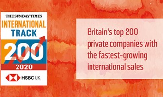 QBS Distribution Recognised For International Growth In The Sunday Times HSBC International Track 200