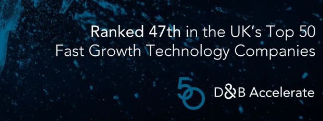 QBS Accelerates Into D&B Top 50 List Of Fast-Growth Technology Companies