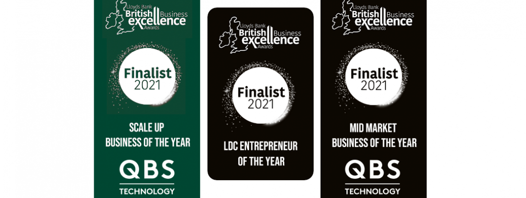 Good Things Come In Threes For QBS -- At British Business Excellence Awards