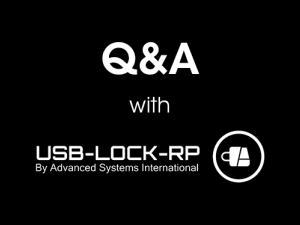 Secure Your Networks That Control Or Store Sensitive Information with USB-Lock-RP