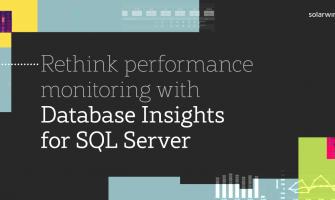 SolarWinds Database Performance Management Portfolio