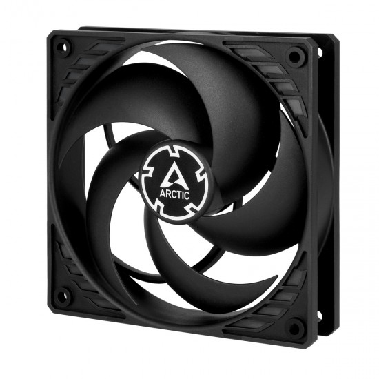ARCTIC P12 PWM (Black/Black) Pressure-optimised 120 mm Fan with PWM