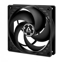 ARCTIC P12 PWM PST (Black/Black) Pressure-optimised 120 mm Fan with PWM PST