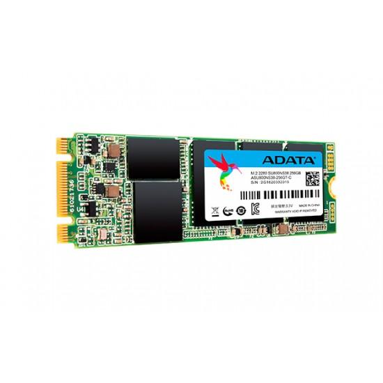 ADATA ASU800NS38-256GT-C internal solid state drive M.2 256 GB Serial ATA III TLC