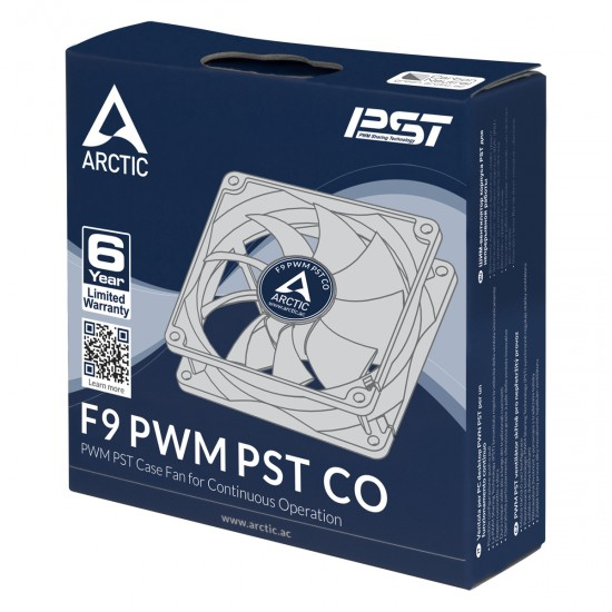 ARCTIC F9 PWM PST CO 92mm PWM with PST Case Fan for Continuous Operation