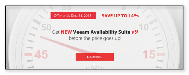 Save 14% on Veeam Availability Suite