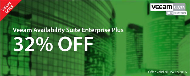 Veeam Special Offer - Save on Veeam Availability Suite Enterprise Suite