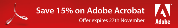 Adobe Acrobat - Save 15%